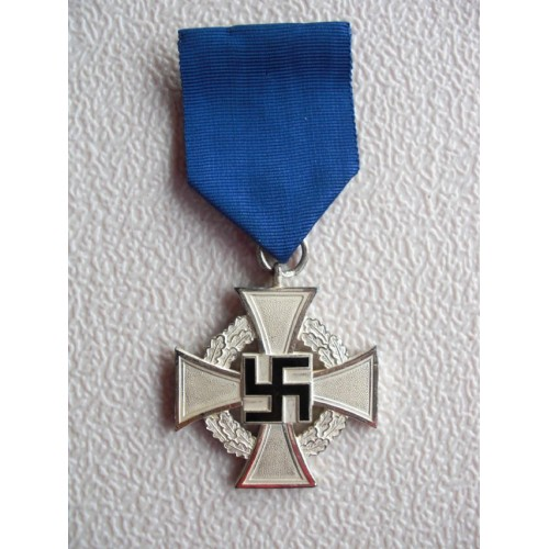 Silver Faithful Service Cross # 889