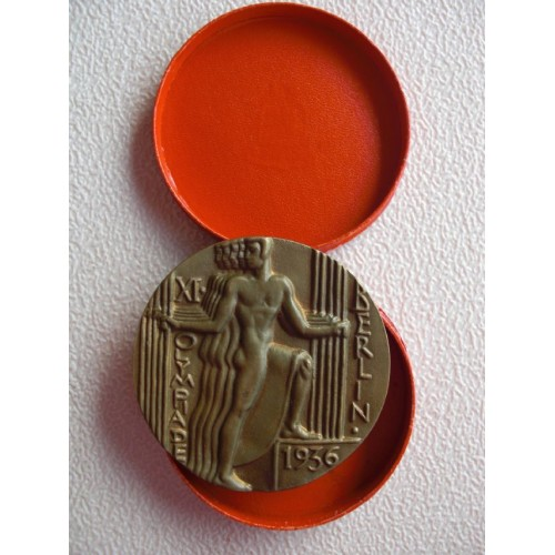 1936 Olympic Medal # 901