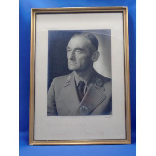 Walter Buch Signed Portrait # 911