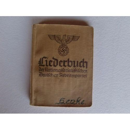 Liederbuch der NSDAP # 924