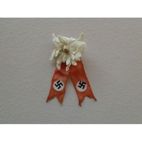 Edelweiss stickpin # 926