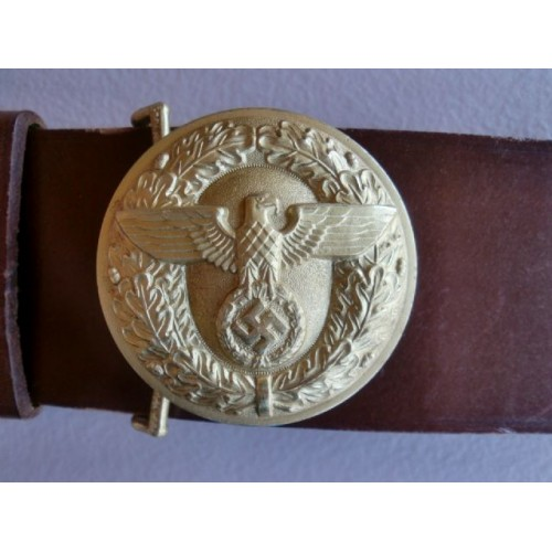 Political Leader's Belt and Buckle # 984