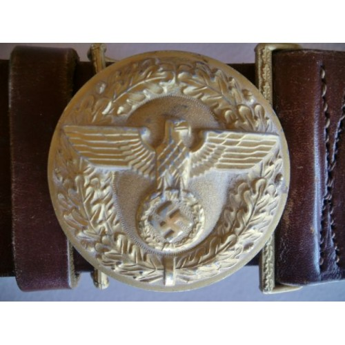Political Leader's Belt and Buckle # 985